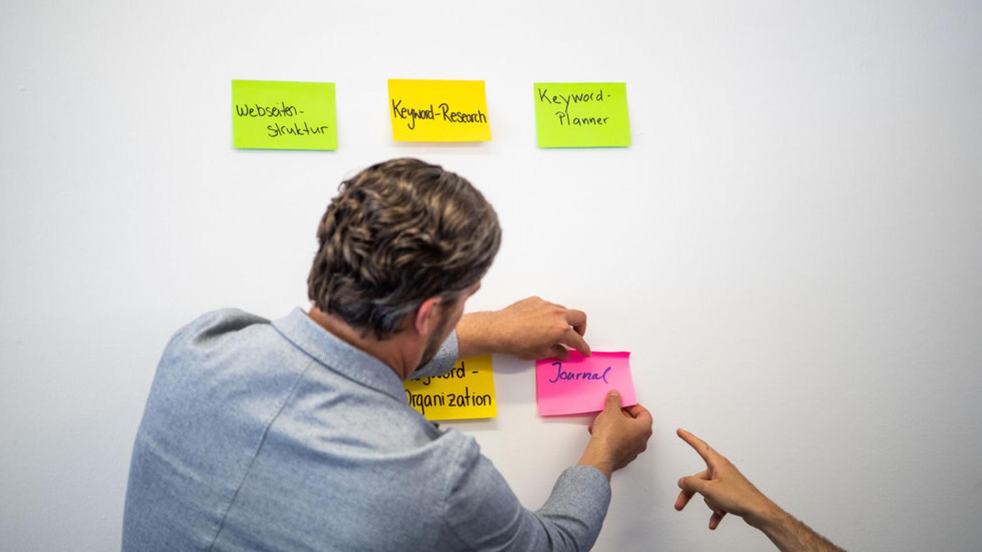 Brainstorming mit My Online Marketing