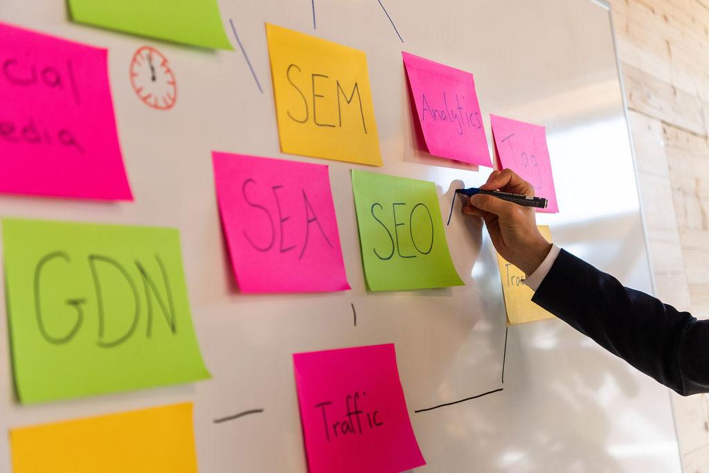 Planung Online Marketing Kampagne für Informationsveranstaltungen